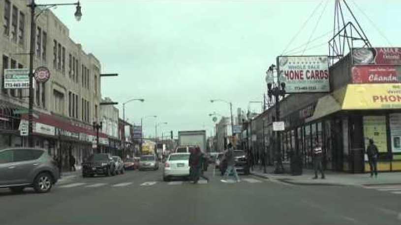 Chicago's Little India on Devon Avenue. Улица Devon/Чикаго