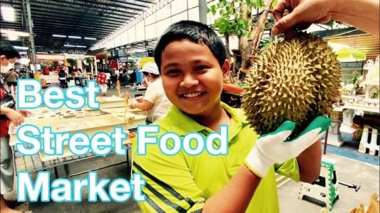 THAI Street Food | HIDDEN Bangkok Market with BEST LUNCH