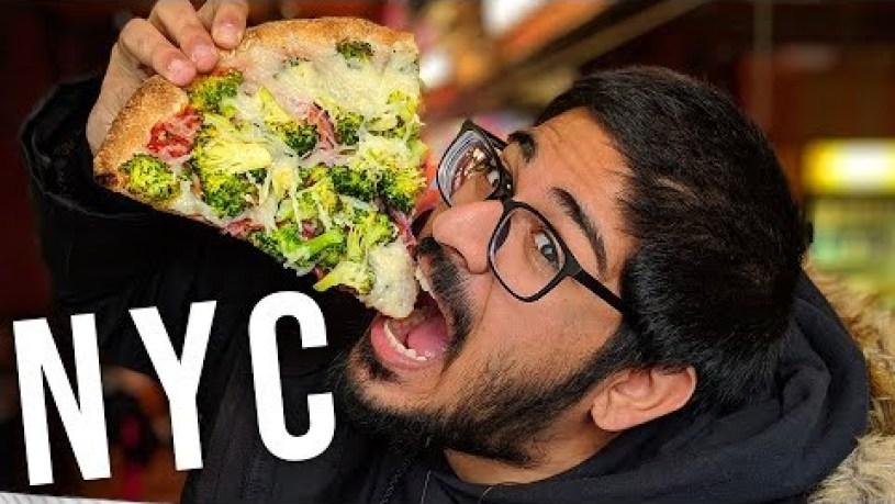 Best VEGAN pizza in New York City!