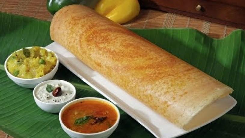 MASALA DOSA SOUTH INDIAN STYLE   BEST VEGAN FOOD   NEW YORK STREET FOOD