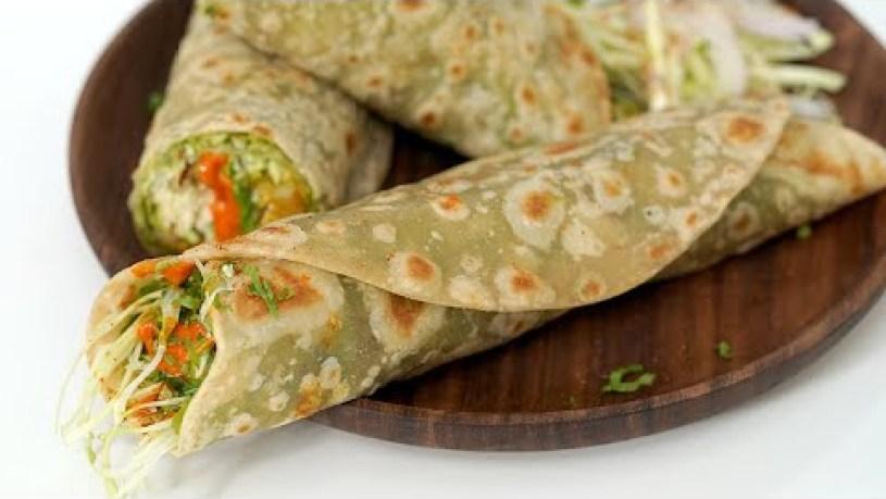 Vegetable Frankie | Mumbai Street Food Recipe by Chetna Patel