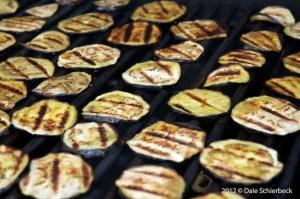 Grilling Eggplant
