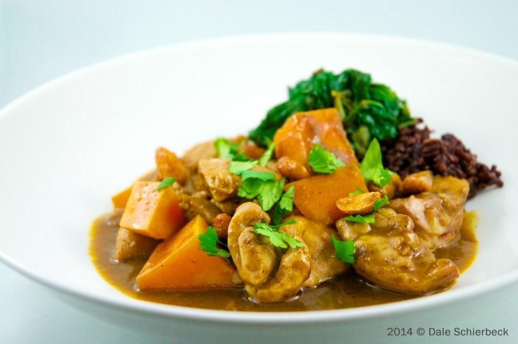 """Fragrant Thai """"Massaman"""" Chicken Curry"""