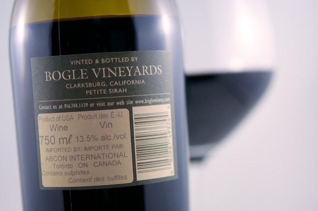 Bogle Vineyards Petite Sirah (2011)