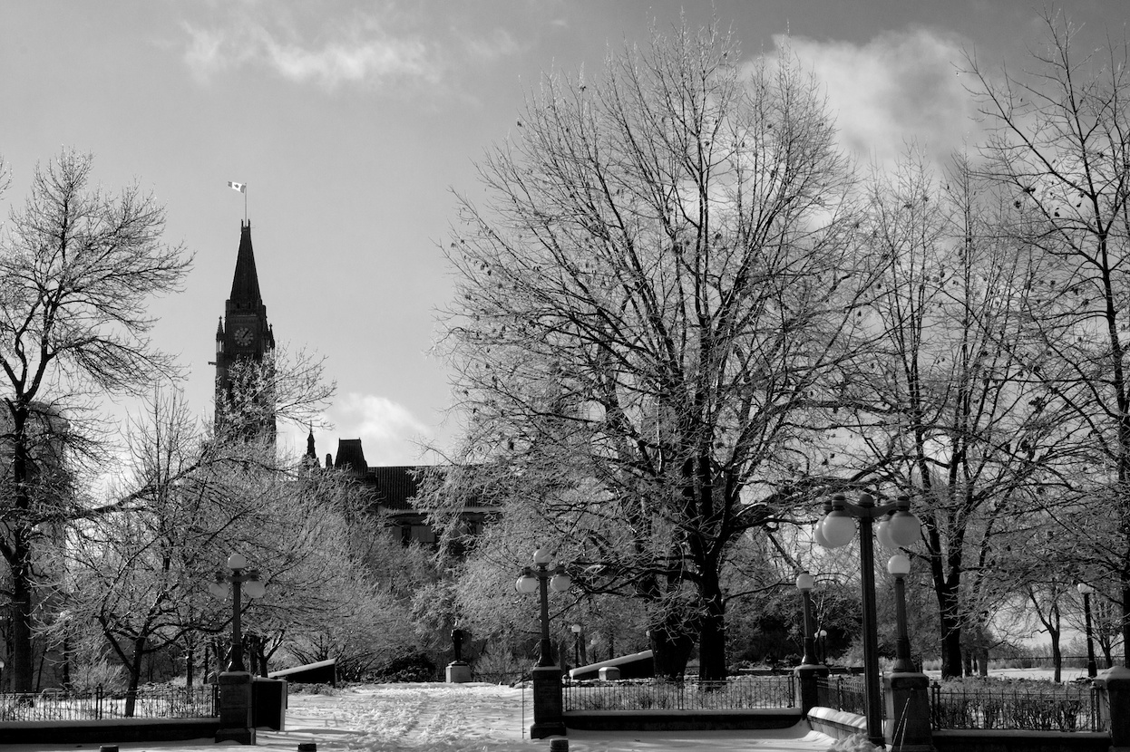 Frozen Parliament Hill 1