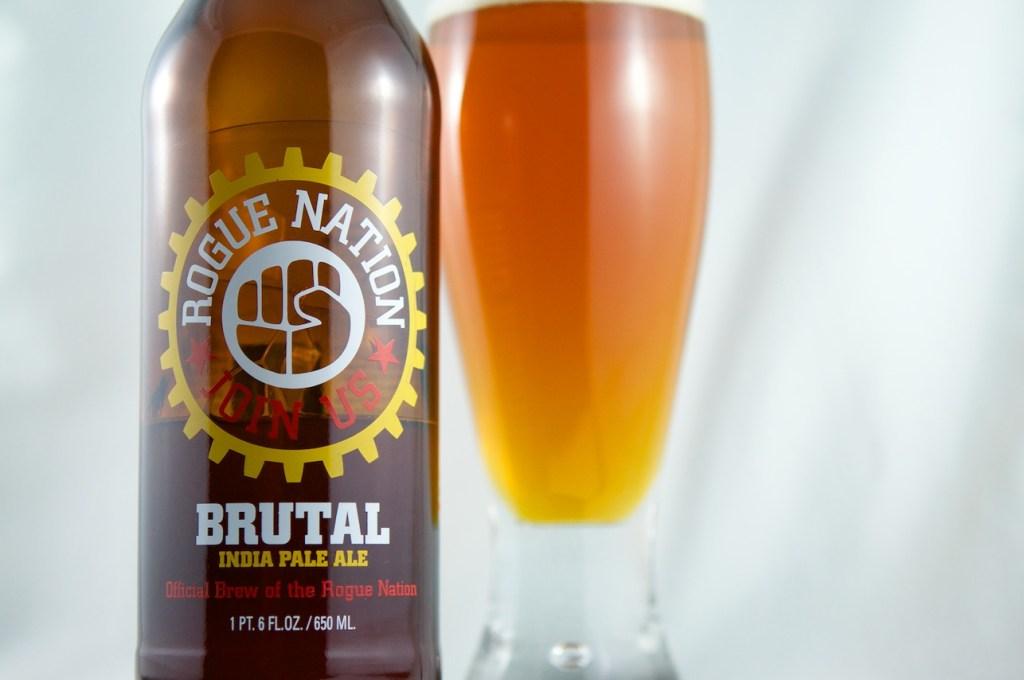 """""""Brutal IPA"""" (American Pale Ale) Rogue Ales"""