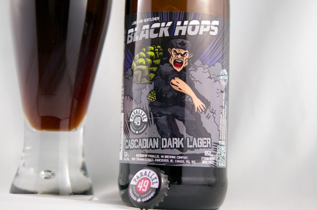 """Black Hops"" (Dark Lager), Parallel 49 Brewing Company"