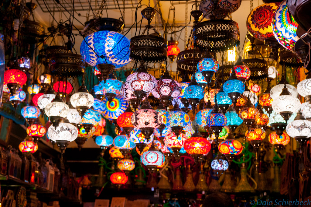 Up streets of Albaicin - lamps