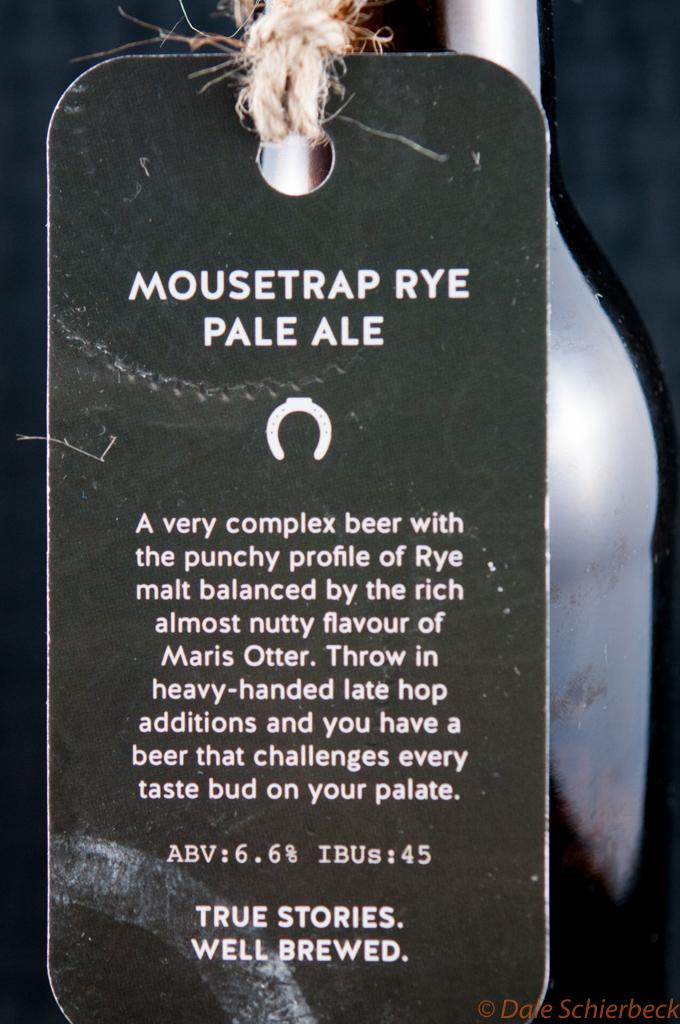 Mousetrap Rye Pale Ale | RyePA | Parsons Brewing