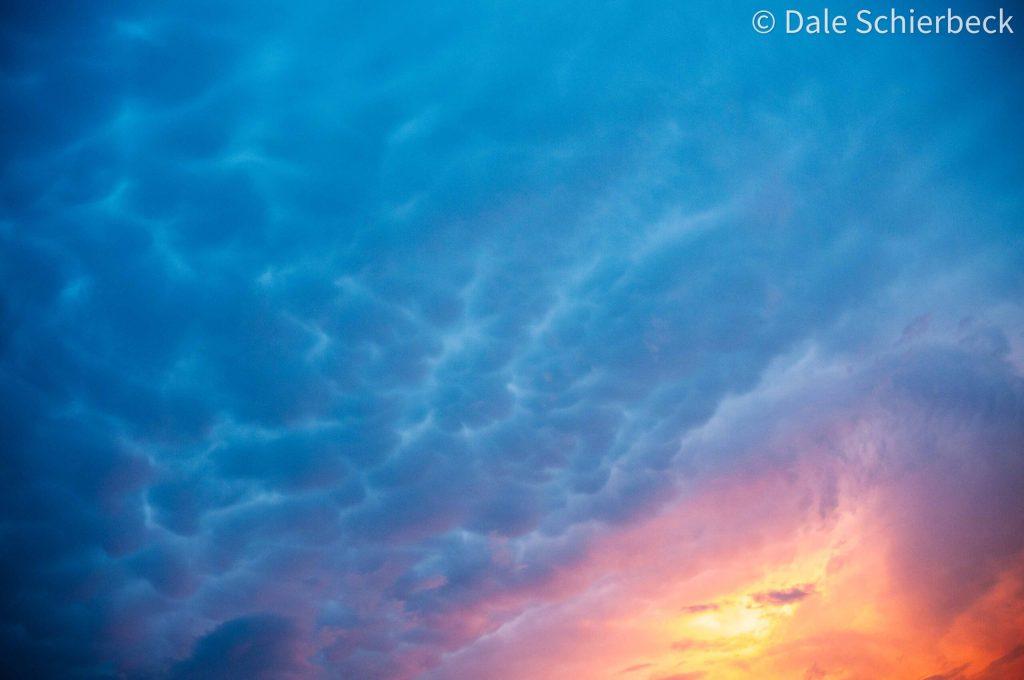 multicoloured sunset