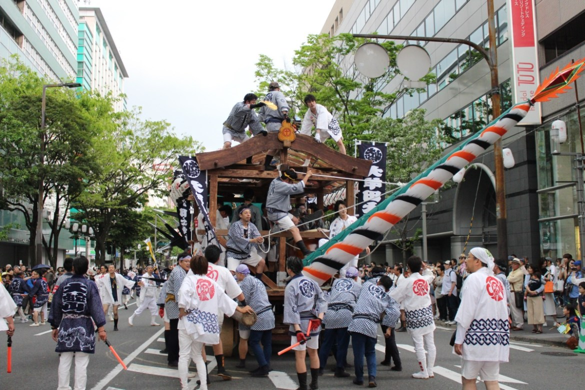 Hakata Dontaku Festival: It Might Rain On The Parade But You Won't Care