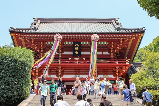 Tsuruoka Hachimangu, Kamakura (C)EatTalkTravel