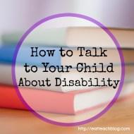 Disability Awareness for Kids