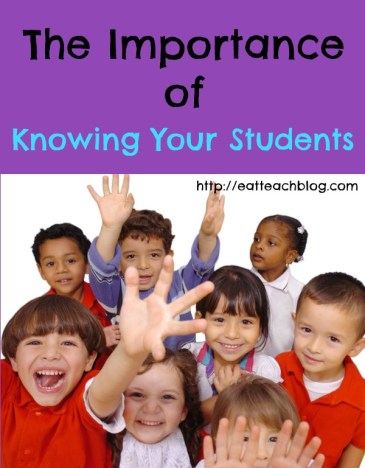 Importance of Knowing Your Students
