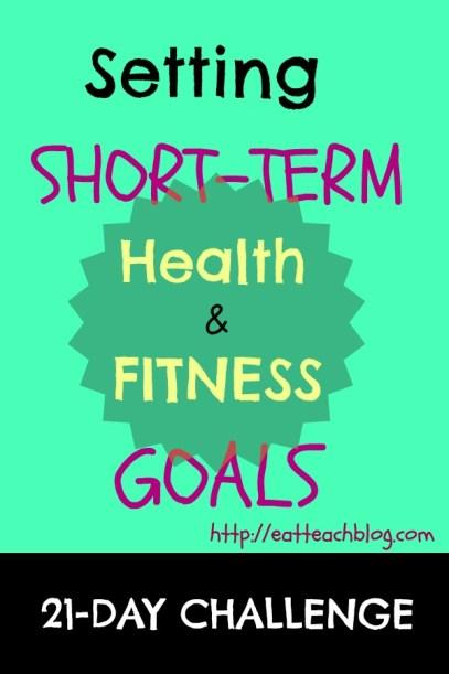 short term goals weight loss