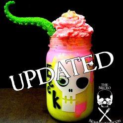 Halloween Recipe: Zombie Inspired Undead Brain Freeze Milkshake Part 2