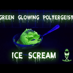 Green glowing poltergeist ice scream hero image