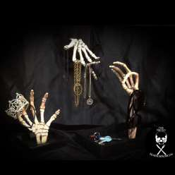 Three easy DIY projects you can make with plastic skeleton hands
