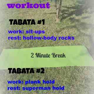10 Minute Tabata Ab Workout