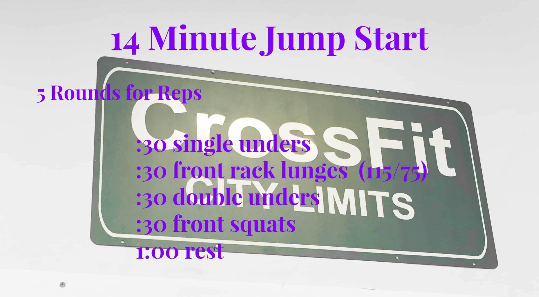 14 Minute CrossFit or at home style workout