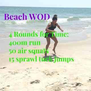 Beach WOD 08/21/15