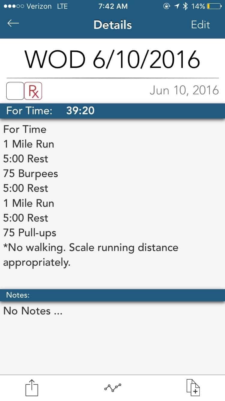 Running, Burpees, & Pull-ups