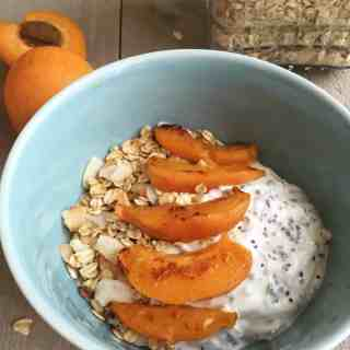 Toasted Oats & Apricot Yogurt Bowl