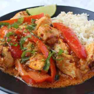 Fed+Fit Cookbook Review: Panang Curry