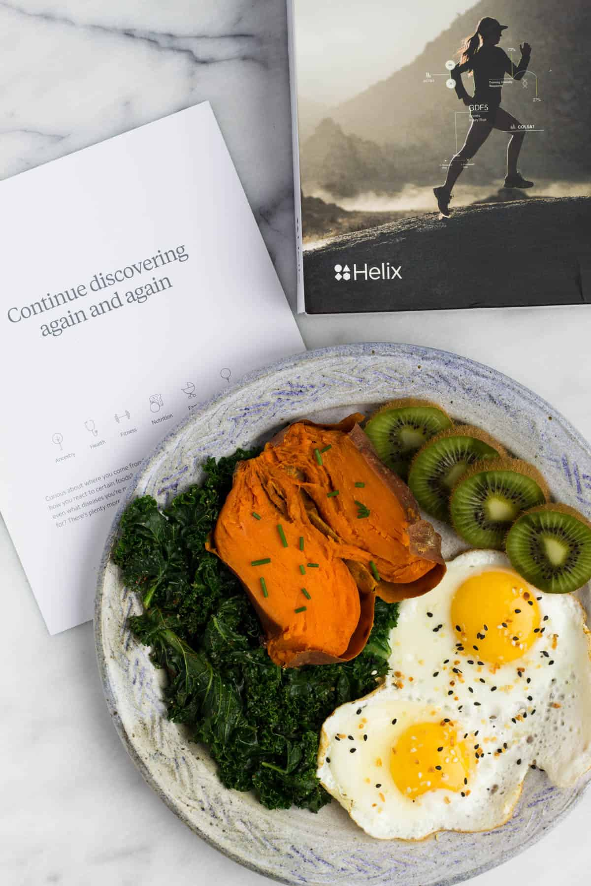 Helix - Using DNA to Personalize Fitness + Nutrition tohelp you reach your goals and the results you have been wanting! - Eat the Gains
