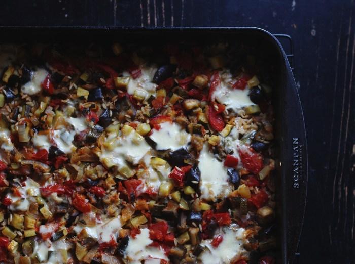 rice bake with veg