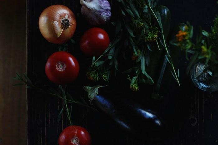 vegetable prep