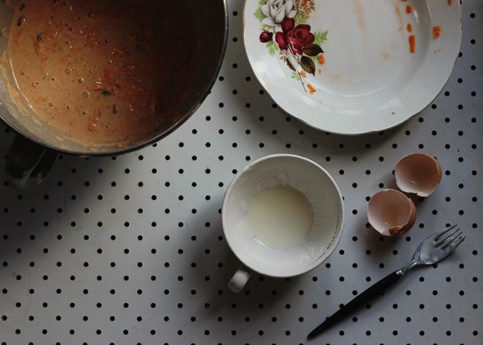 carrot cake pancakes batter