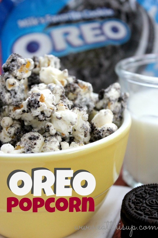 Oreo Popcorn Eat This Up