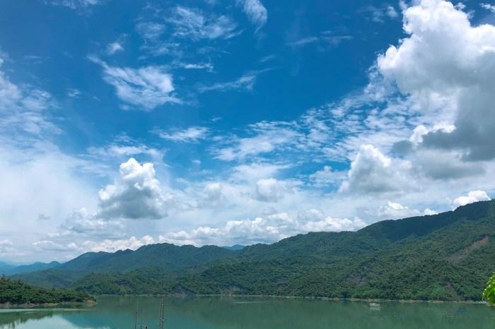 南化水庫|青山綠水,空氣清爽,水源保護區,適逢大雨過後,有機會觀賞溢洪道洩洪壯觀景色!