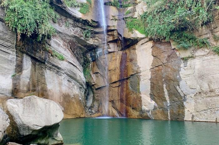 青雲瀑布(情人瀑布) 台三線嘉義大埔免門票景點,適合全家旅遊的風景點。