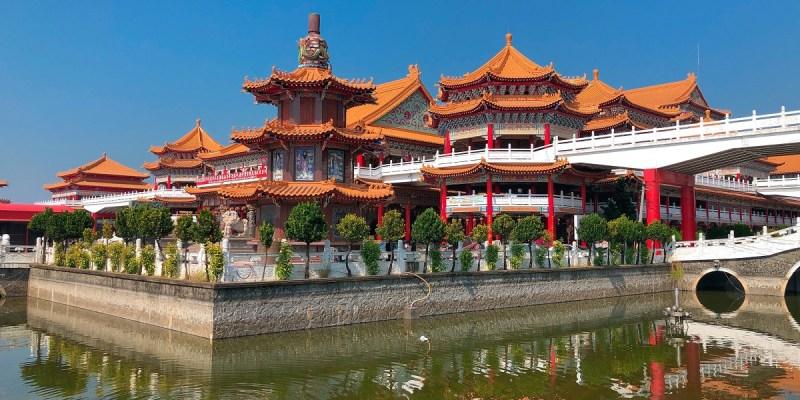正統鹿耳門聖母廟|每年元宵節施放煙火,已成為台南一大特色活動媽祖廟。