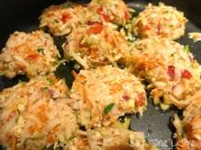 Garden Zucchini Veggie Fritters with Chunky Guacamole (Gluten Free, Vegan)