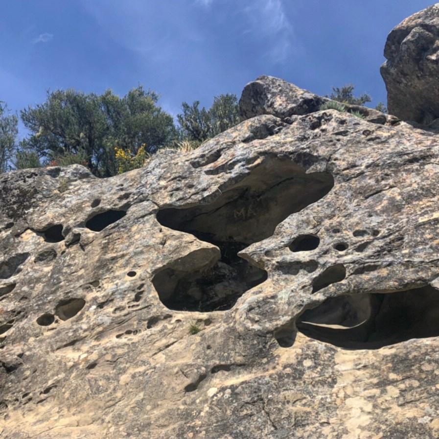 castle rock boulder formations