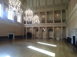 Imagine dances being held in the Assembly Rooms