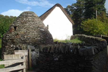 St Fagan's: Round home for the pig