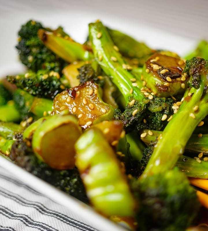 Stir-Fry Broccoli