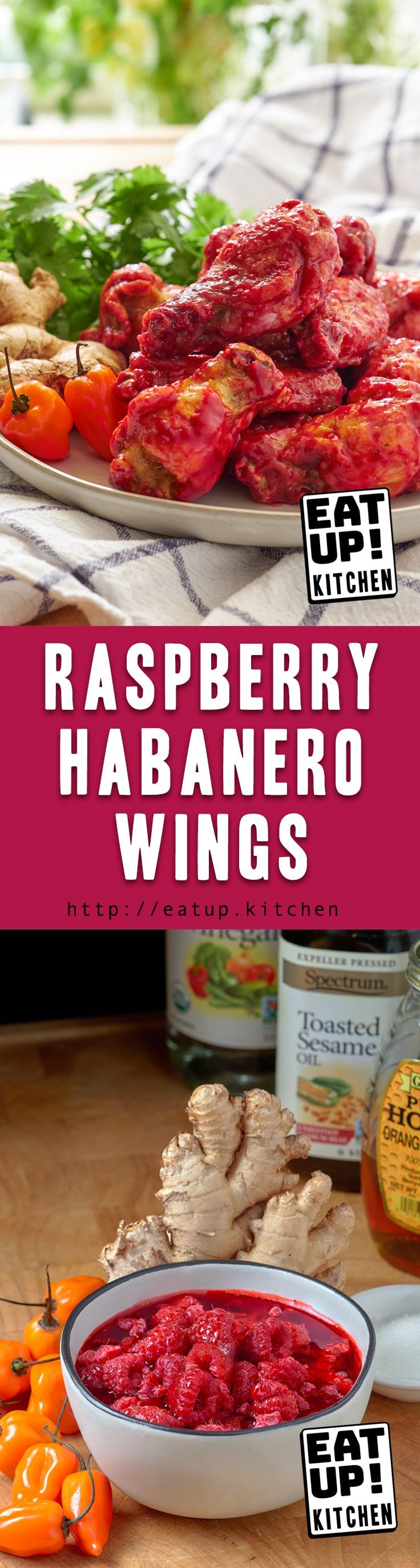 Raspberry Habanero Wings