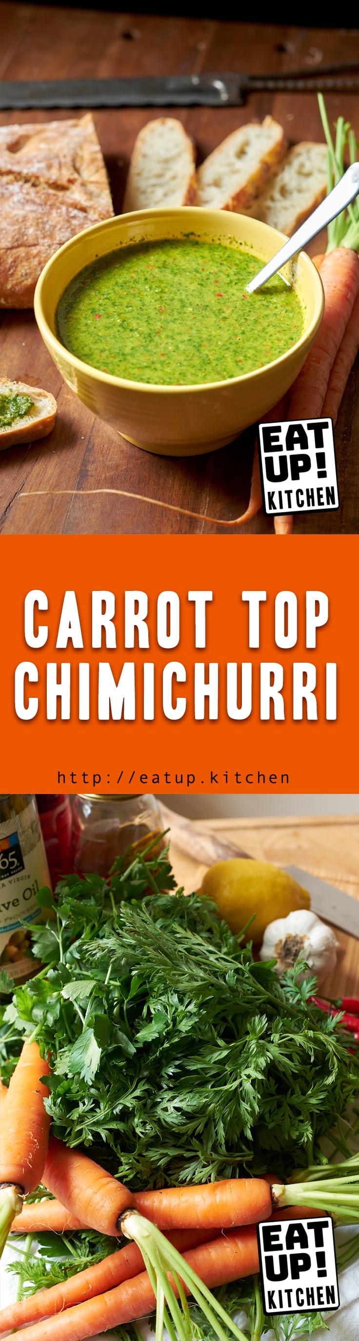 Carrot Top Chimichurri