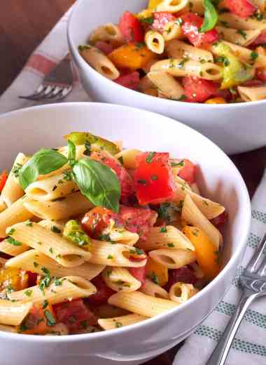Penne with Tomatoes