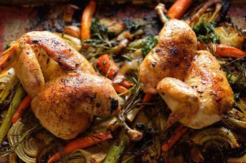 Eat Up! Kitchen Split Roast Chicken