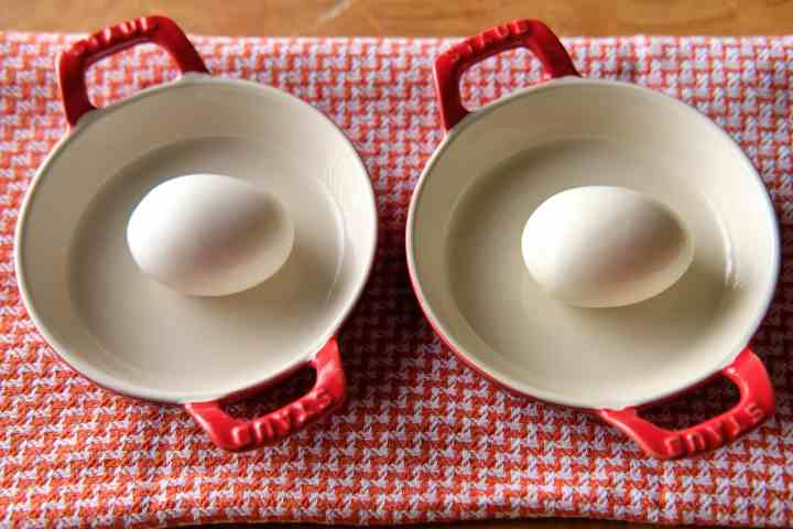 Soft Cooked Eggs - Steamed