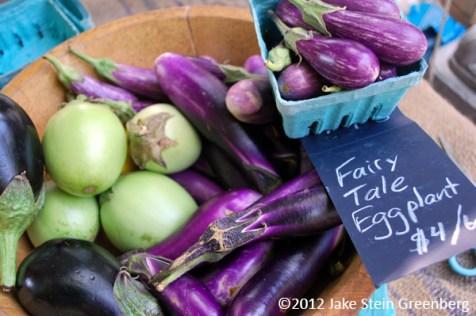 """""""Brooklyn Grange Eggplant"""" - Brooklyn Grange, NY    (c)2012 Jake Stein Greenberg"""
