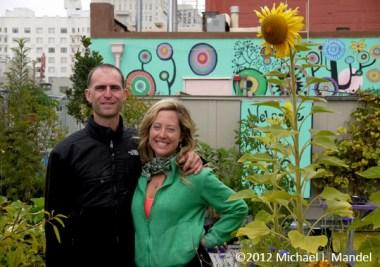 """Containers Galore"" - Graze the Roof, CA    (c)2012 Michael I. Mandel"