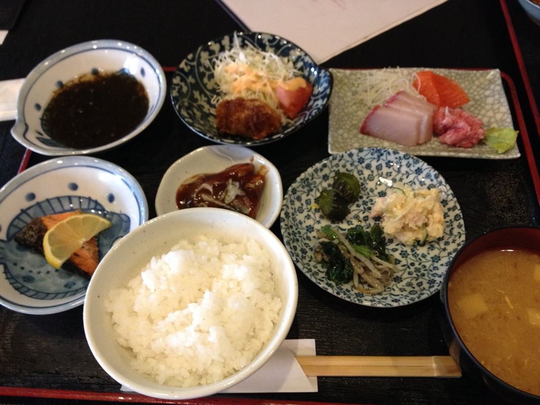 Daily Lunch Set - 880yen - Nomokuo(のもくお)