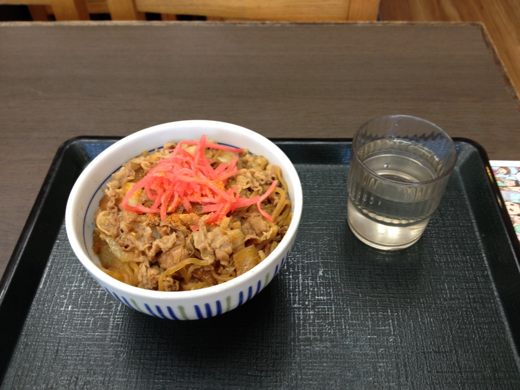 Gyudon(牛丼)/Beef Bowl – Budget Restaurant in Japan | milu's dream ...